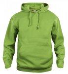 Basic-Hoodie-Ljusgrön